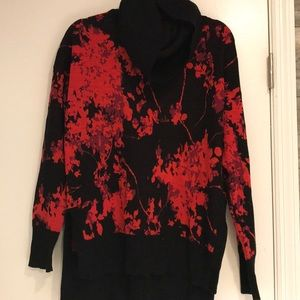 DVF cowl neck sweater size m